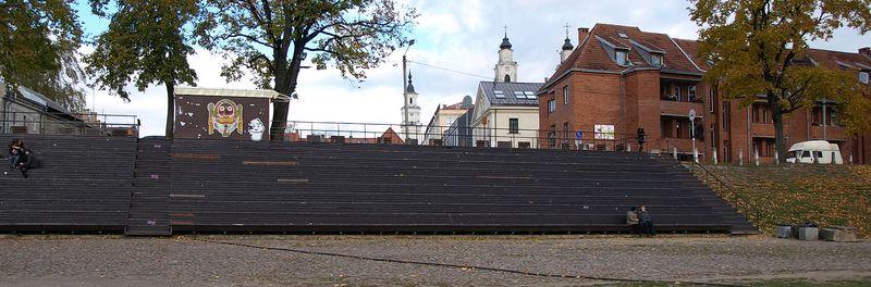 Daugirdo amfiteatrą yra ypač pamėgęs Kauno jaunimas. Foto: ©PILOTAS.LT