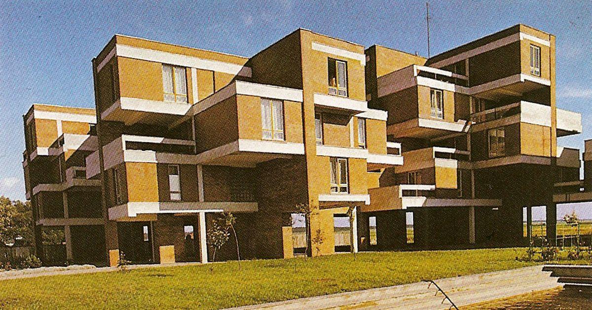 """Poilsio namai """"Guboja"""" Šventojoje, 1973-76, arch. R.Buivydas"""