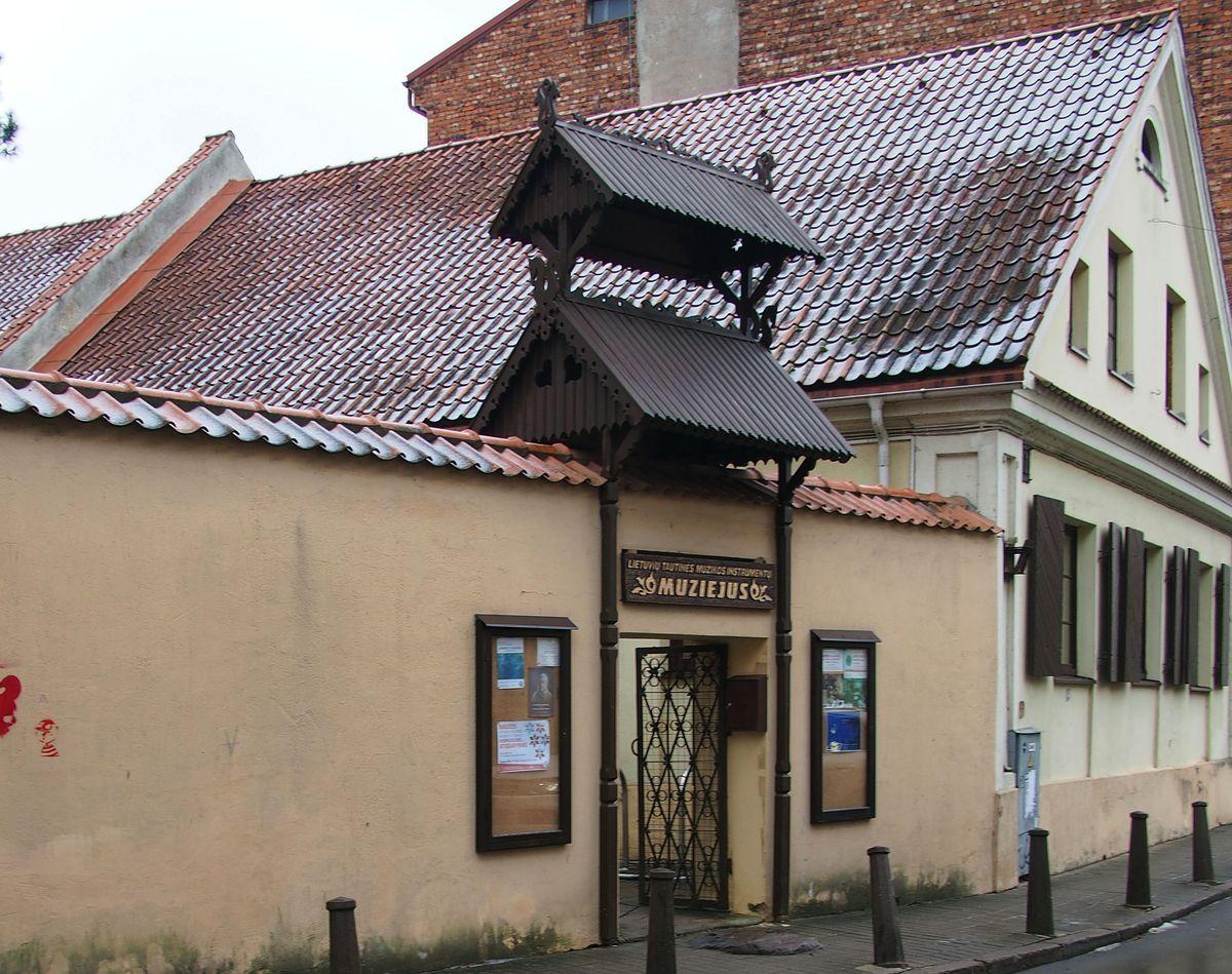 Lietuvių tautinės muzikos istorijos skyrius įsikūręs Kauno senamiestyje. Foto: PILOTAS.LT ©