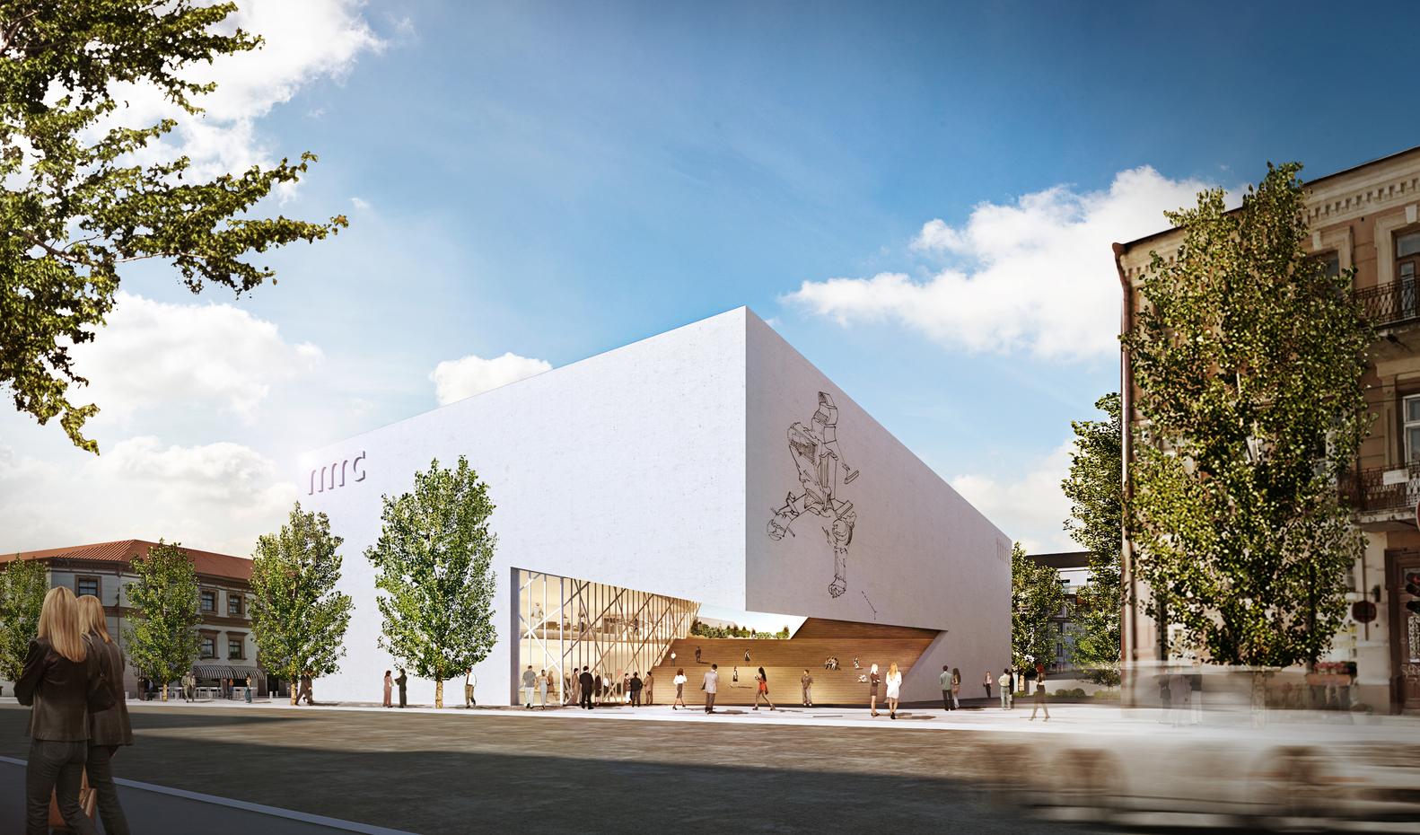 "Modernaus meno centras (arch. ""Studio Libeskind, ""Do architects"")"