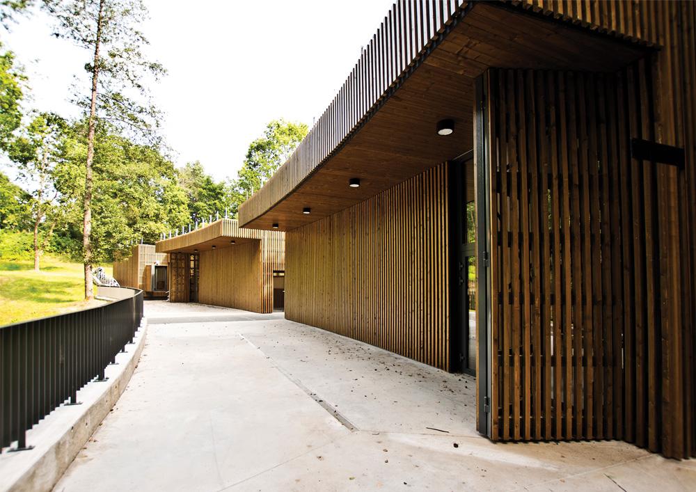 """K.Dineikos sveikatingumo parkas Druskininkuose, arch. Vilniaus architektūros studija"""""""