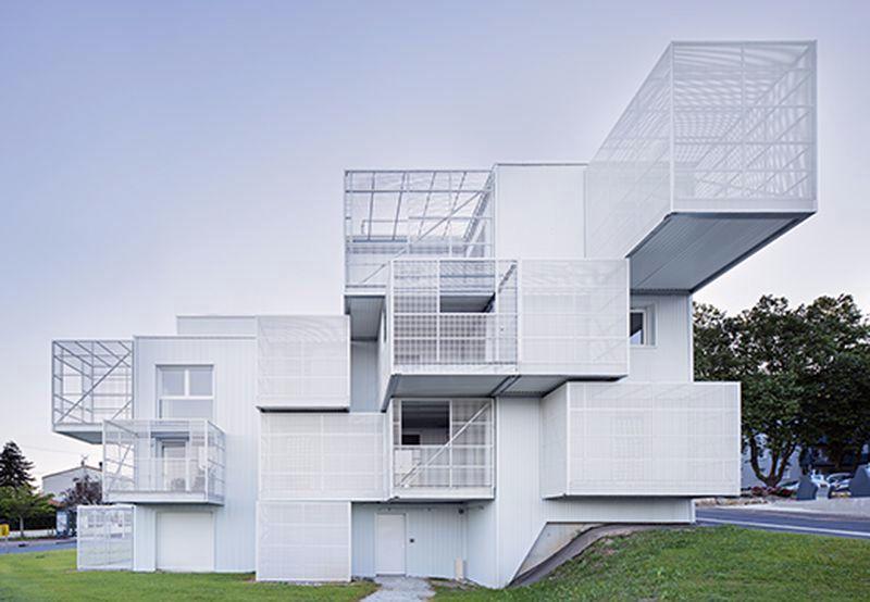 """30 socialinių būstų kompleksas """"Balti Debesys"""", arch. """"More Architecture"""" ir """"Poggi Architecture"""", foro: J.Callejas"""