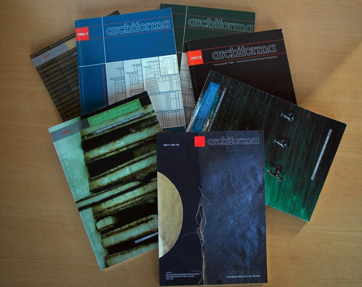 """R.Buivydas beveik 20 metų redagavo architektūros žurnalą """"Archiforma"""""""