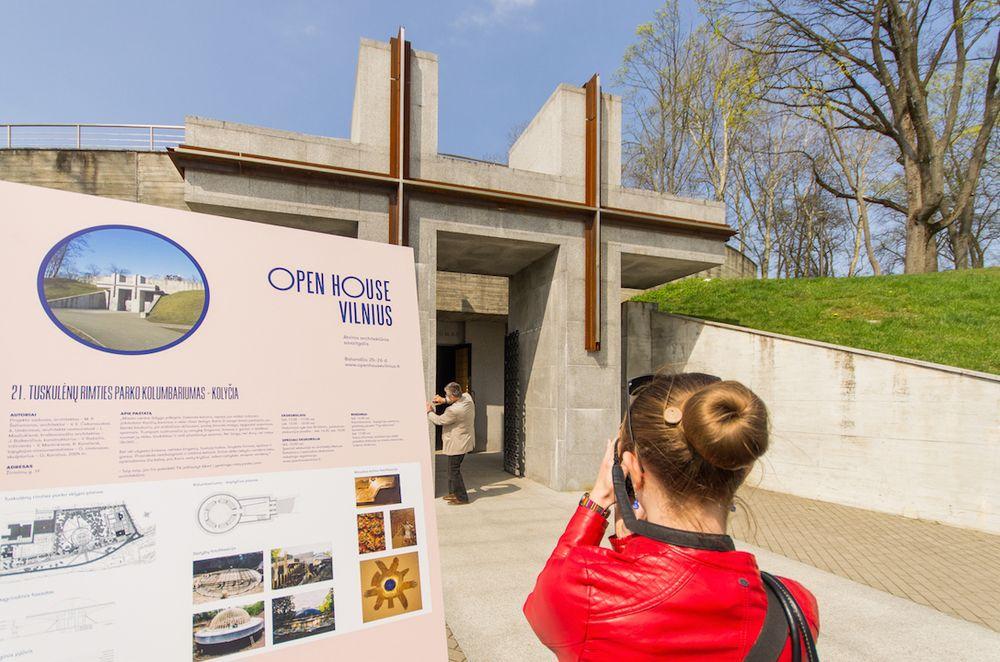 "Festivalis ""Open House Vilnius"" šiemet supažindins su 20 naujų objektų. Foto: N.Tukaj."
