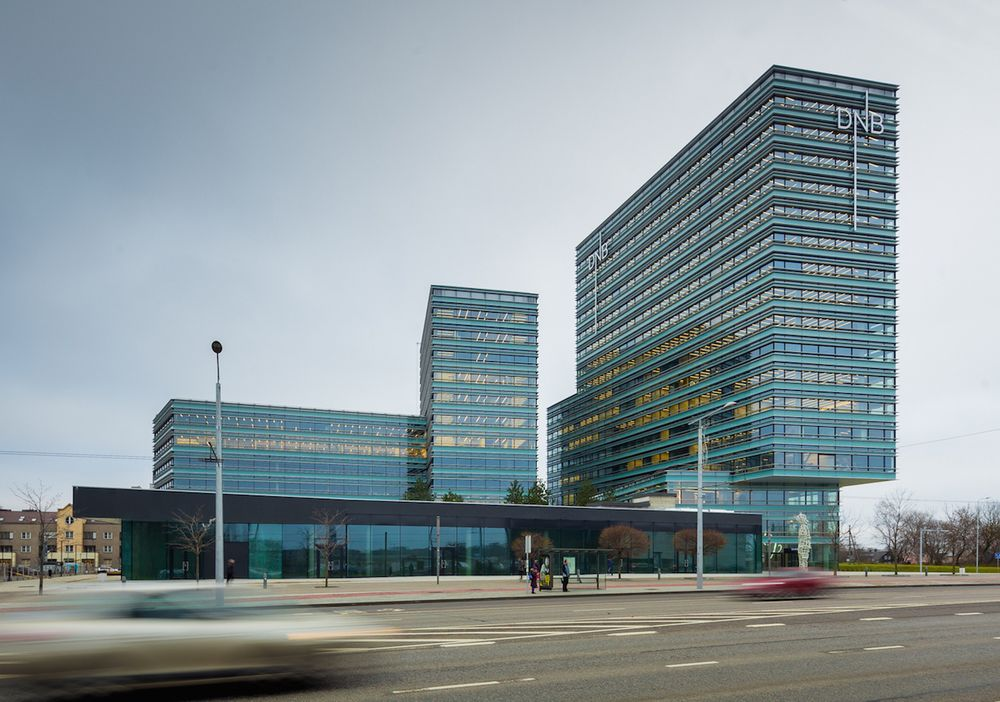 """Verslo centras """"Quadrum"""" (architektai Espenas Pedersenas, Edgaras Neniškis). Foto: N.Tukaj."""