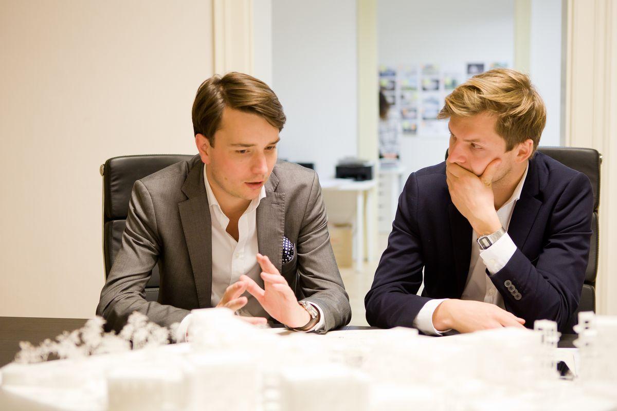 """Architektai Ondřejus Chybíkas ir Michalas Krištofas (""""CHYBIK+KRISTOF"""")"""