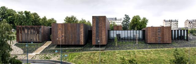 Soulages muziejus, 2014, Prancūzija (su G.Trégouët). Foto: H.Suzuki