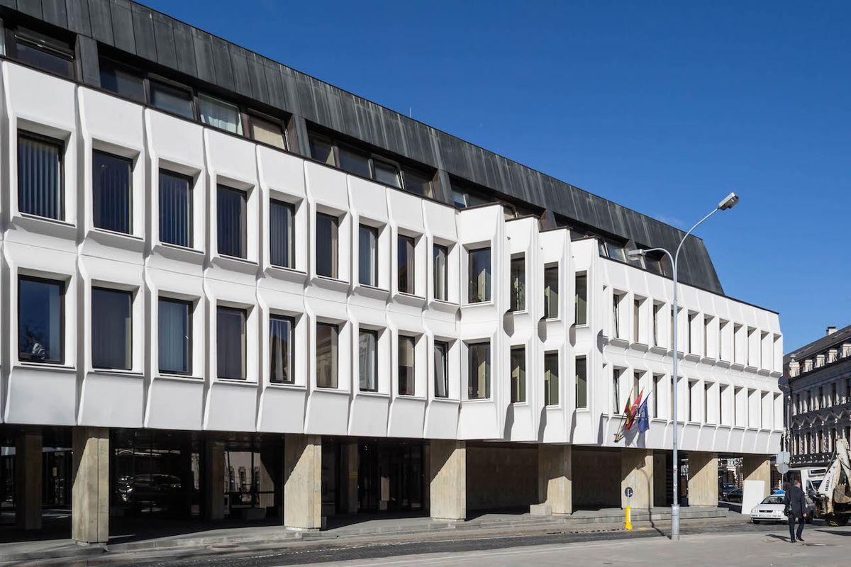 LR Sveikatos apsaugos ministerija/ Palangos 4 - Verslo centras; arch.J. Šeibokas, D. M. Mikalauskienė. Foto: R.Krau