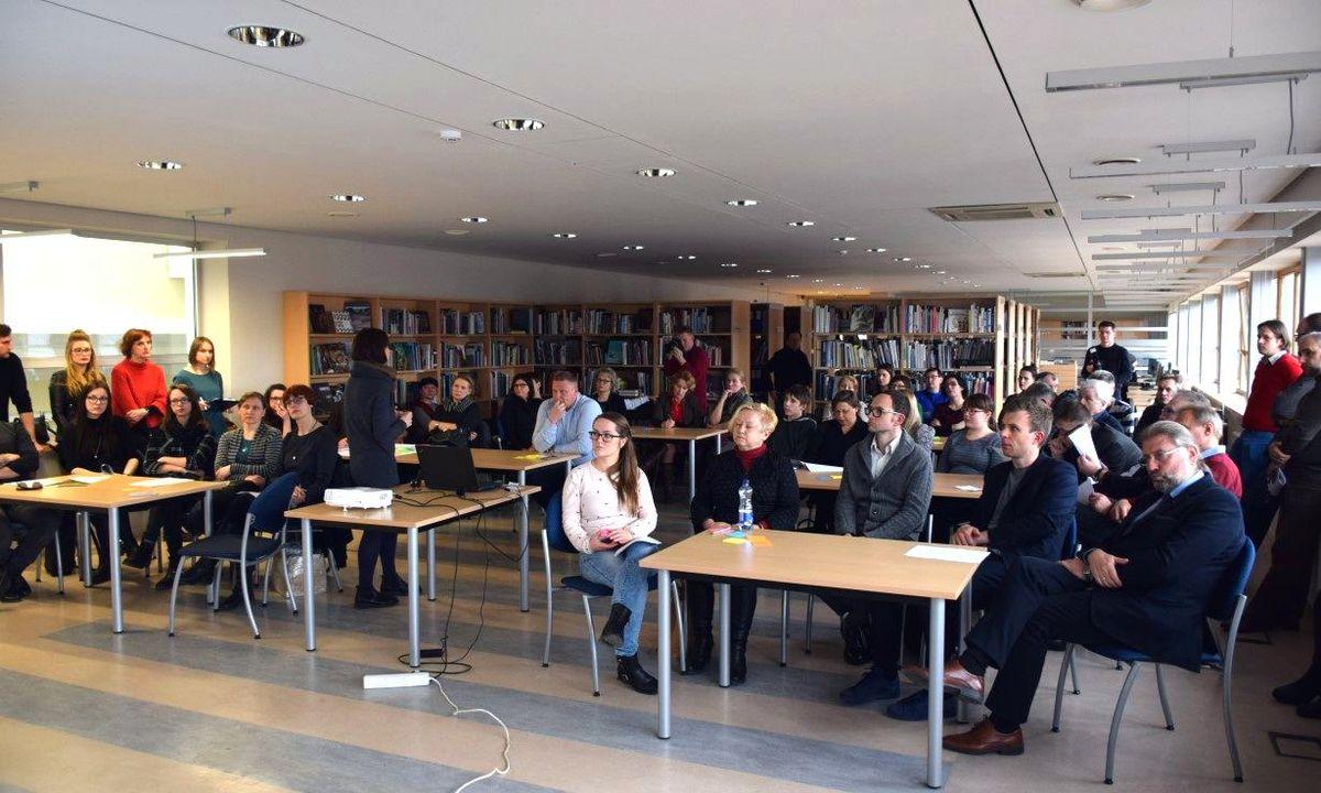 Architektų kūrybinės dirbtuvės Panevėžyje dirba kaip atviras diskusijų ir architektūrinės analizės laukas.
