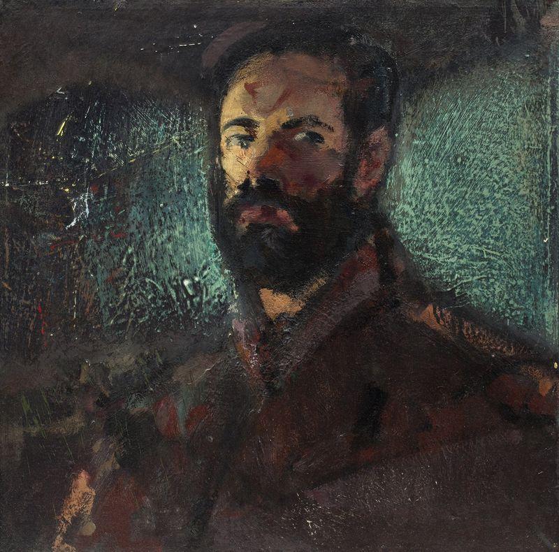 """""""Autoportretas"""", V.Eigirdas, 1987 m."""