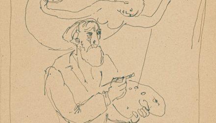 Dailininkas ir mūza, V.Kasiulis