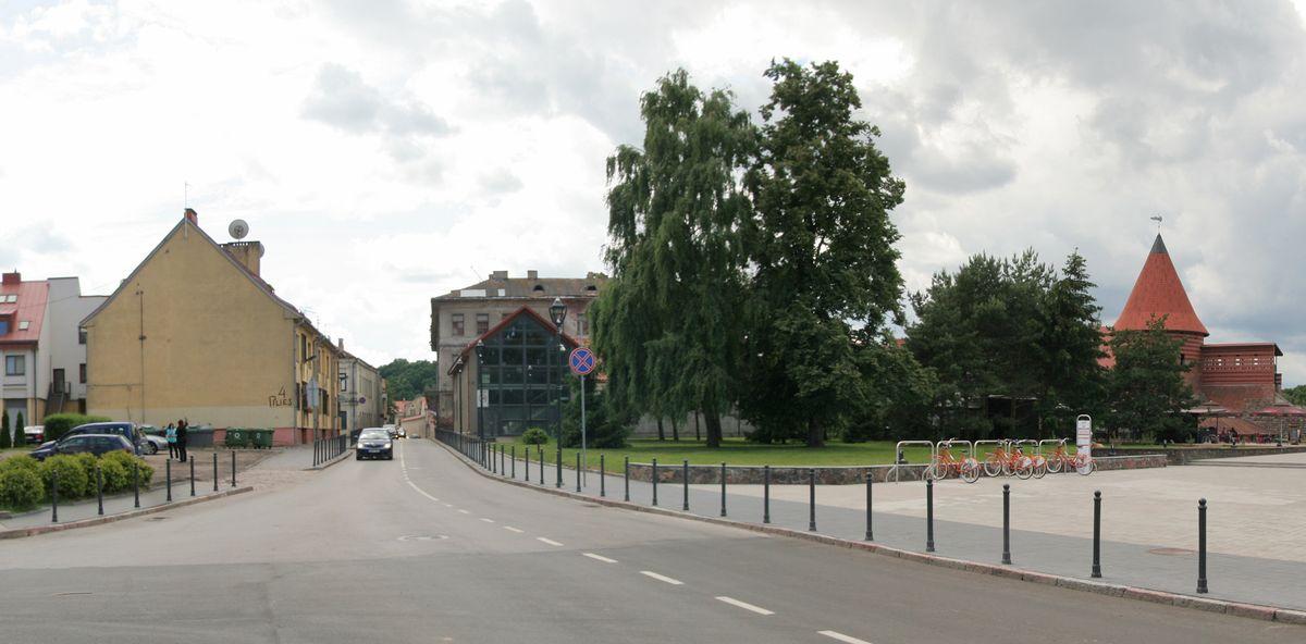 Pilies g. 4 namo siena vadinama vartais į senamiestį