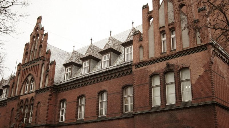 Klaipėdos centrinis paštas, arch. H.Schoede. Foto: klaipedainfo.lt