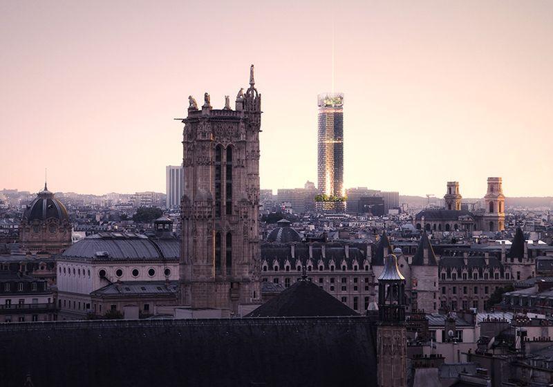 "Montparnaso bokštas, arch. ""Nouvelle AOM"", 1-oji vieta."