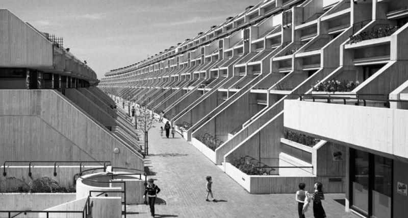 "Gyvenamasis kompleksas ""Alexandra Road"", arch. N.Brown. Foto: RIBA."