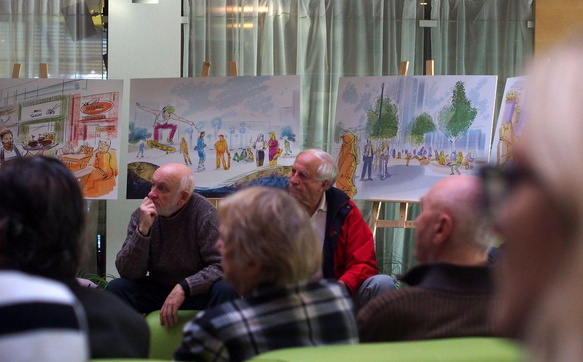 """Architekto parengtų """"piešinėlių"""" piarinio saldainio šįkart publika neprarijo. ©PILOTAS.LT"""