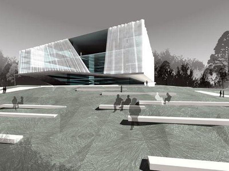 Tautos namai, 2008 m. konkursinis projektas, arch. VAS