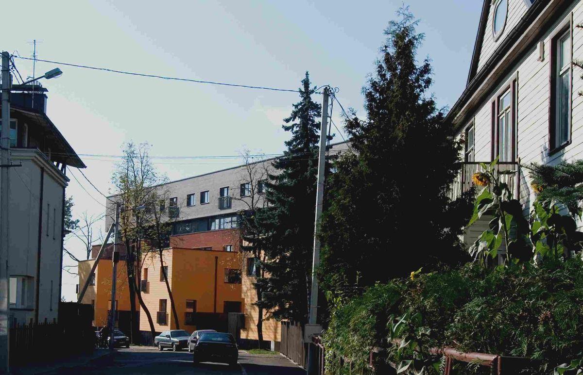 """""""Aušros namų"""" gyvenamasis kvartalas, Kaunas, Žaliakalnis (2007)."""