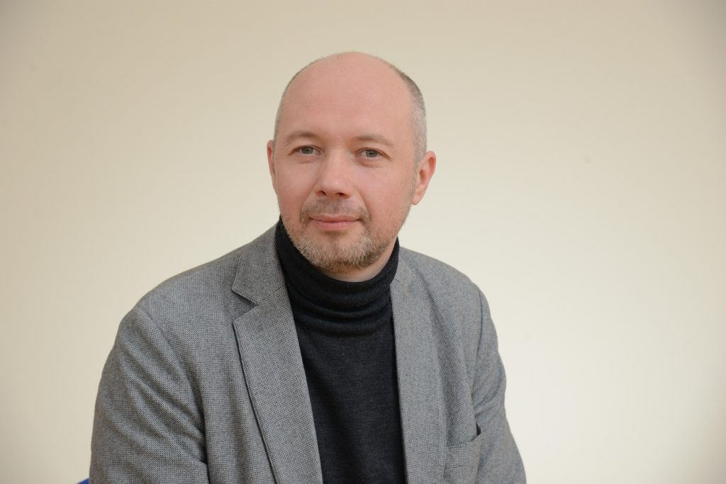 VGTU Architektūros fakulteto dekanas Liutauras Nekrošius.