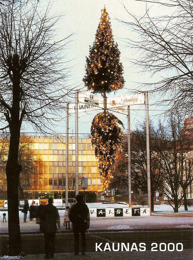 """Kauno miesto """"Eglė 2000"""" (1999)."""