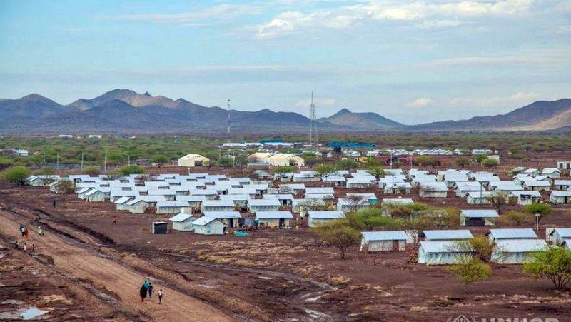 Pabėgėlių stovykla Kenijoje, arch. S.Ban