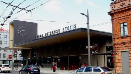 Kauno autobusų stotis (arch. G.Balčytis su K.Vaikšnoru, P.Vaitekūnu ir J.Šniepiene). Foto: G.Balčytis