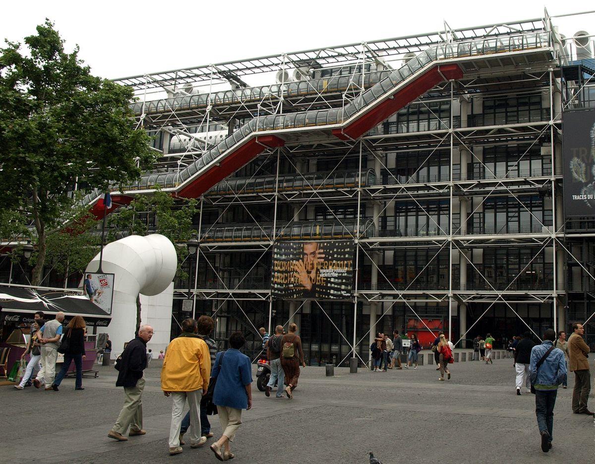 G.Pompidou meno centras
