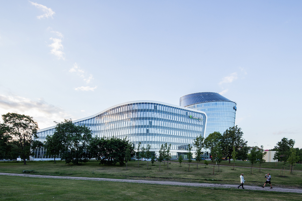 """Green Hall 2""; arch. ""Archinova"" ir ""Arrow Architects""; 2016 m. Foto: N.Tukaj"
