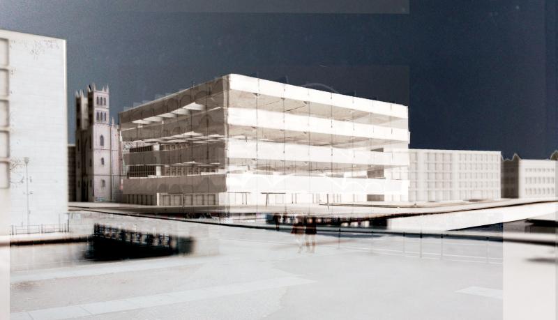 Hendrik Brinkmann Naujas Berlyno akademijos pastatas, Hendrik Brinkmann, Vokietija. YTAA Finalistas
