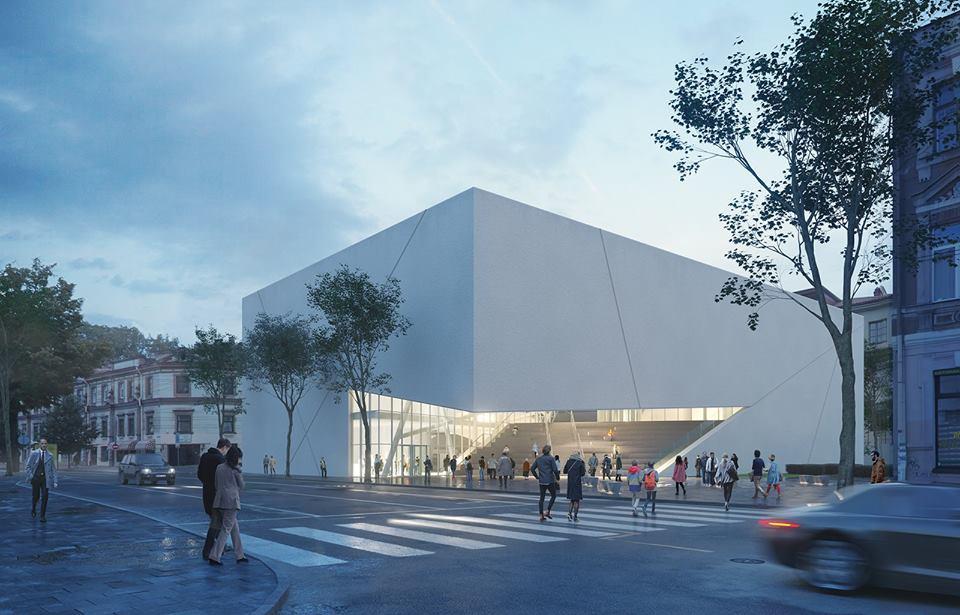 "MO muziejus Vilniuje (arch. D.Libeskind, ""DO Architects"")"