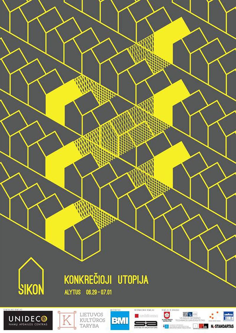 XXX SIKON'o tema – Konkrečioji utopija