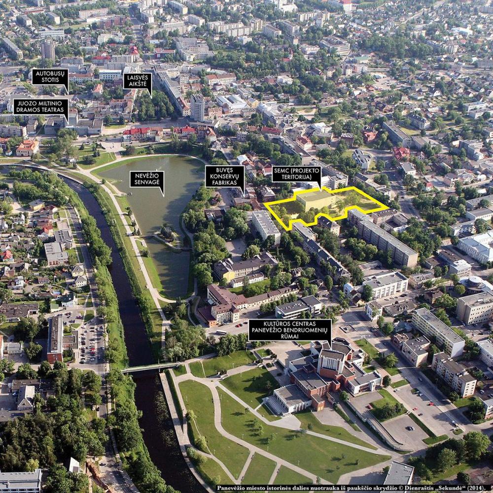 Stasio Eidrigevičiaus Menų centras iškils sudėtingame ir margame Panevėžio rajone