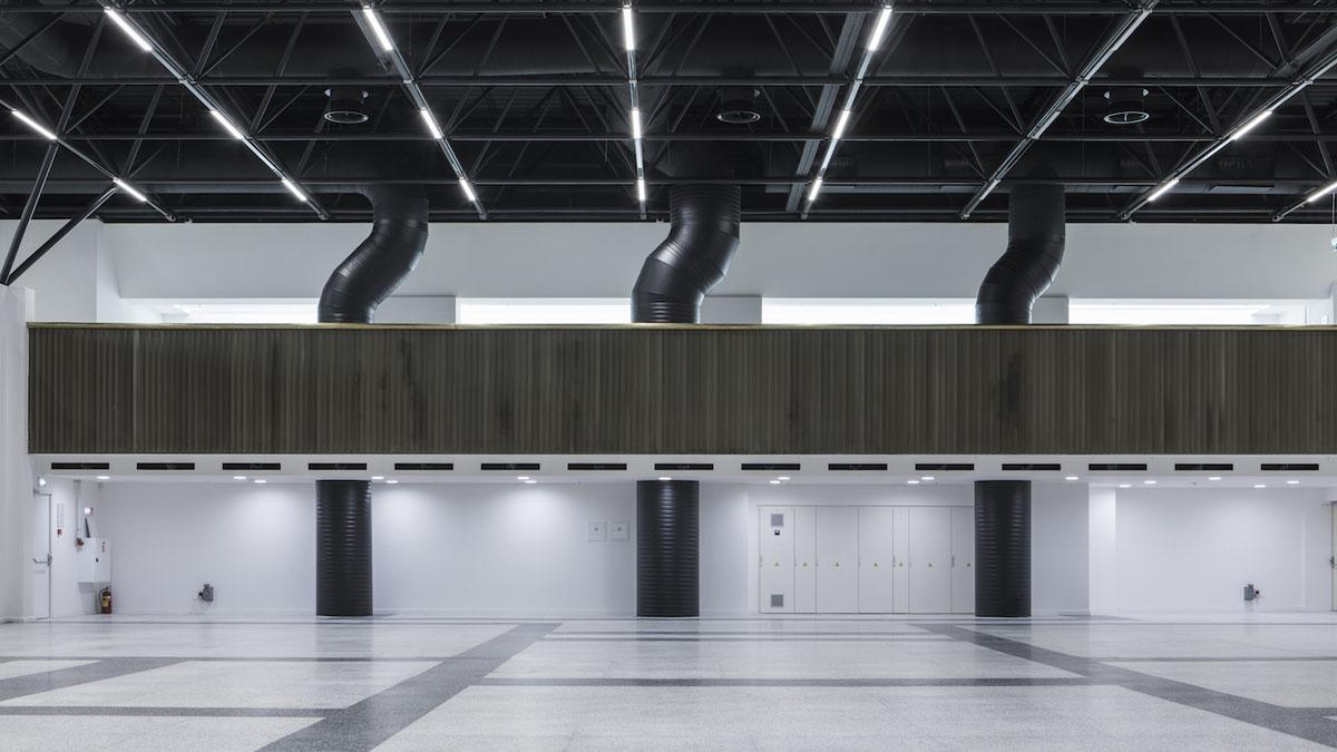 """I-oji vieta – """"Litexpo"""" rūmų rekonstrukcija (R.Paleko ArchStudija)"""