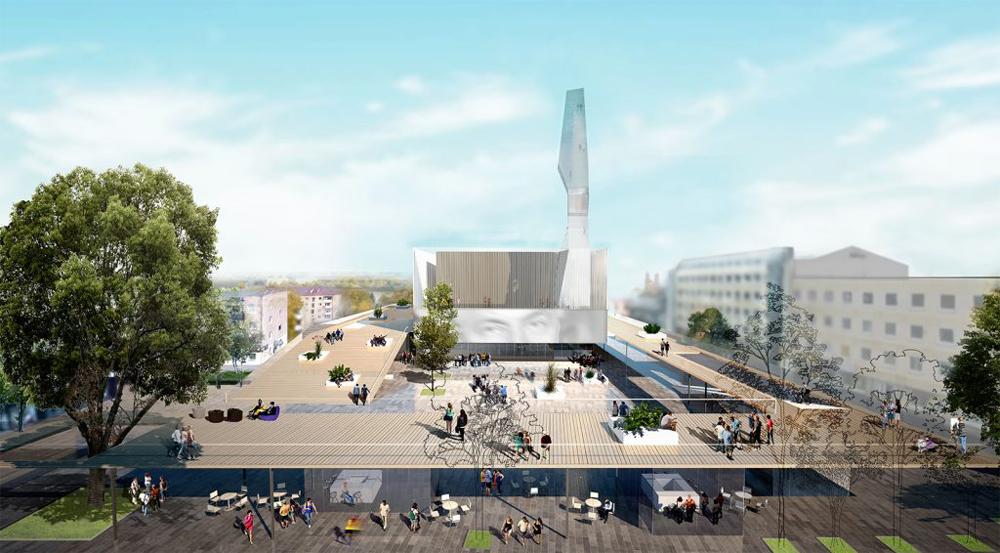 """Speciali nominacija: projektas 111111. Architektai: UAB """"TAEM Architektai"""" ir UAB """"Architektūros linija"""" (autorių organizatoriai neskelbia)"""