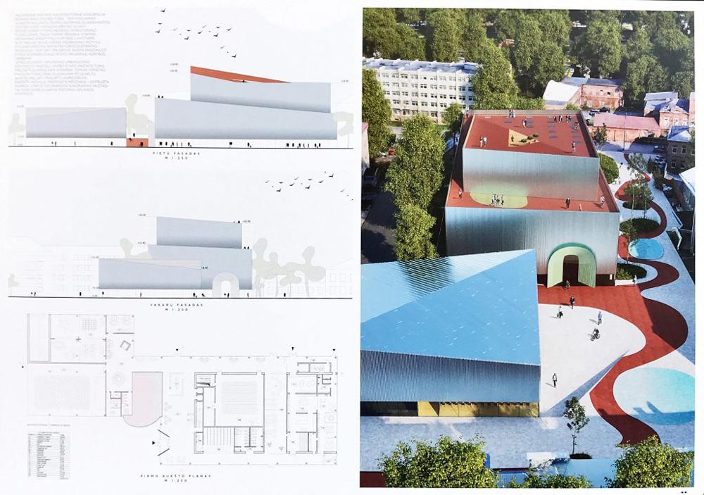 "Projektas 369978. Architektai (neoficiali informacija): Studija ""Heima"" MB"
