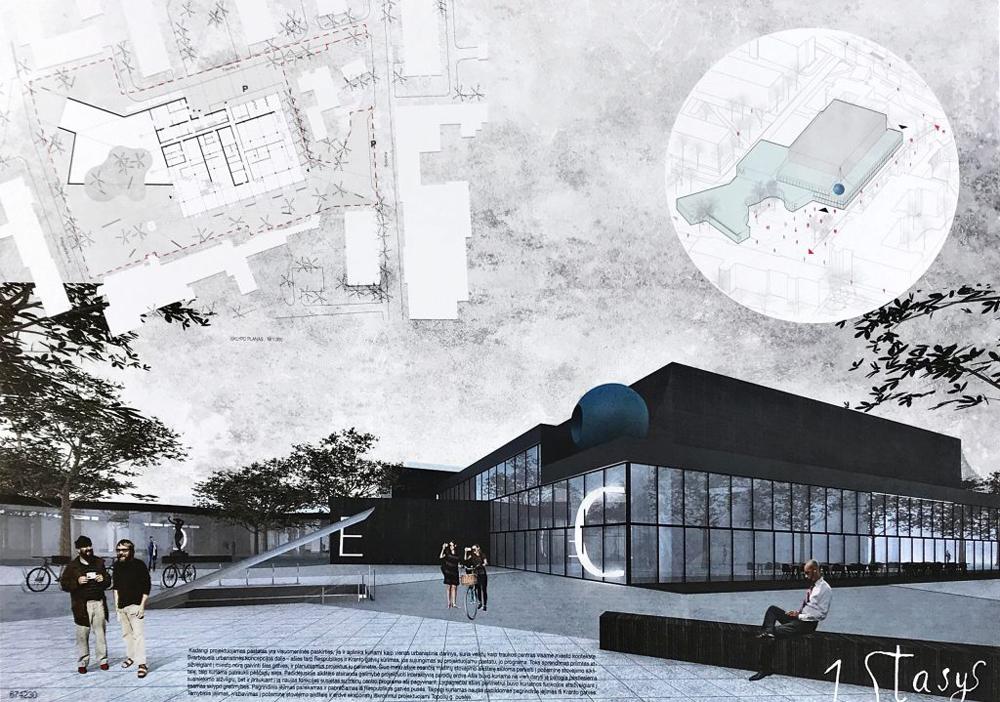 """Projektas 674230. Architektai (neoficiali informacija): UAB """"Kančo studija"""""""