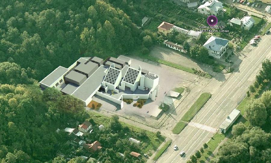 """""""RA studijos"""" architektai siūlo atkurti pirminę Šarvojimo rūmų paskirtį, išsaugant esminius elementus ir išplečiant kompleksą"""