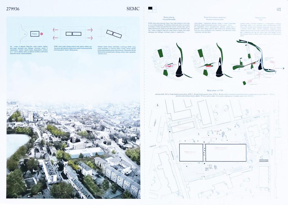 Projektas 279936. Architektai organizatorių neskelbiami