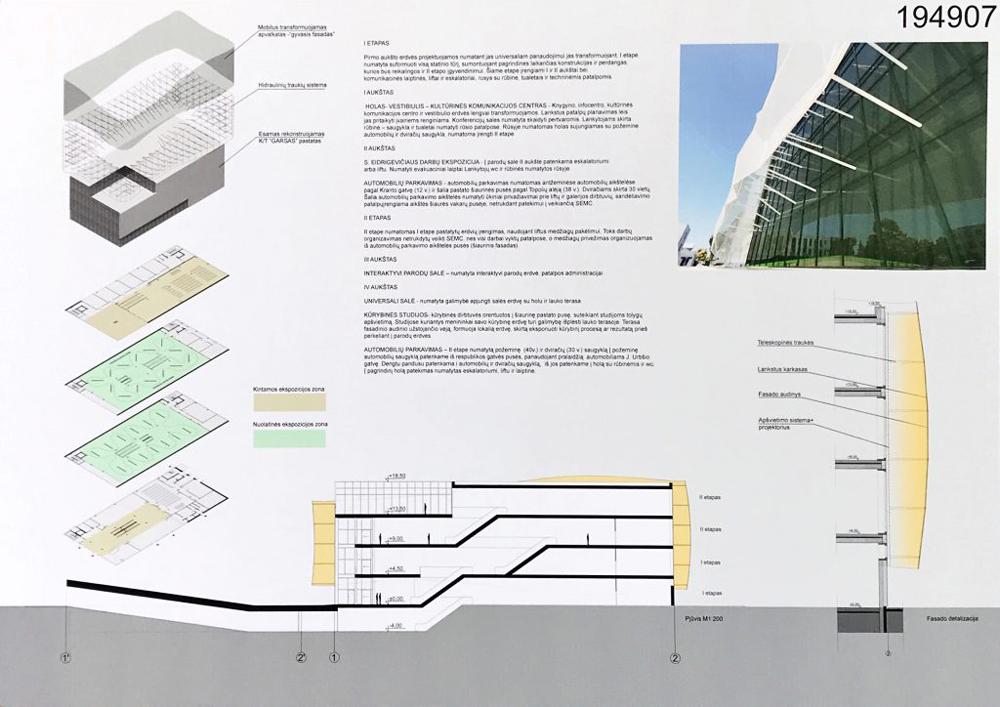 Projektas 194907. Architektai organizatorių neskelbiami