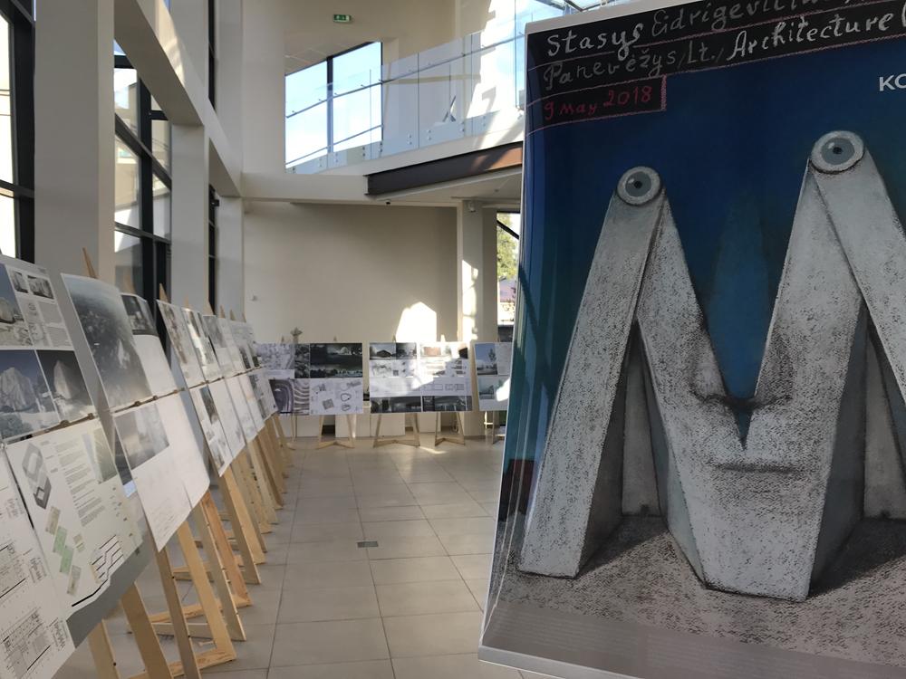 Konkursiniai projektai kelias savaites buvo viešai eksponuojami Panevėžio Keramikos galerijoje