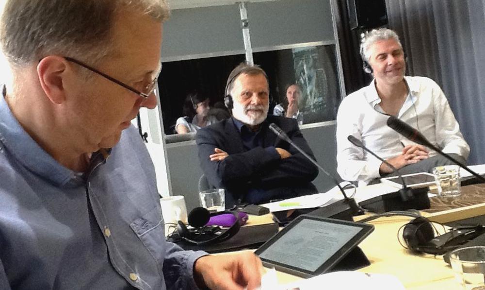 Vertinimo komisijoje triūsė: Audrius Ambrasas, Stanislaw Denko (Lenkija), Johan de Wachter (Olandija). Foto: S.Eidrigevičius