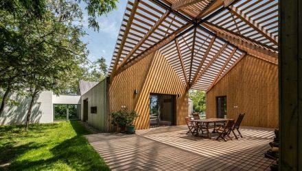medinė architektūra