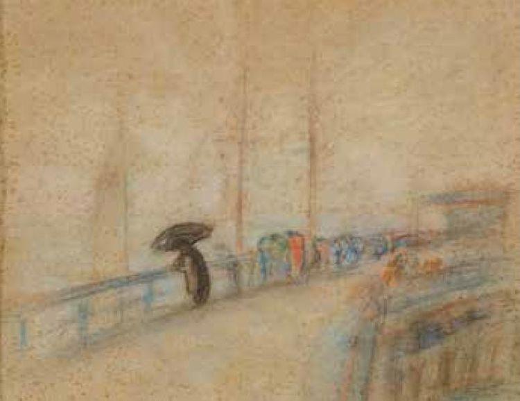"""Ant P alangos tilto"", V.Kairiūkštis (1890–1961)"