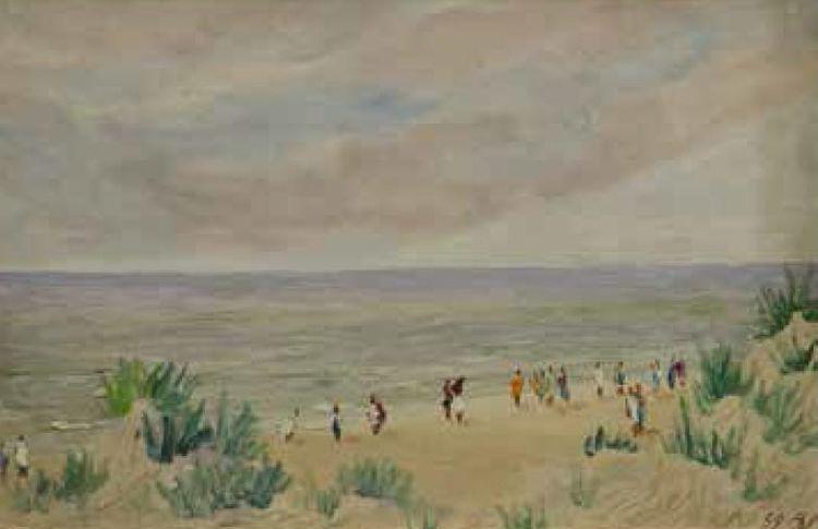 """""""Saulėlydis"""", J.Vaitys (1903–1963)"""