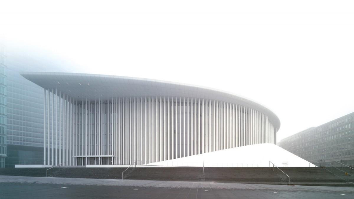 Liuksemburgo filharmonija, arch. Ch. de Portzamparc (2005)