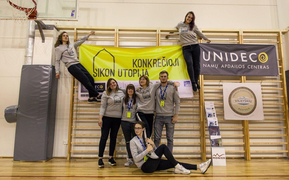 SIKON XXX organizatoriai
