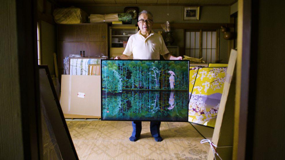 Tatsuo Horiuchi užsitarnavo pravardę Excel'io Mikelandželas. Festivalis NOW JAPAN