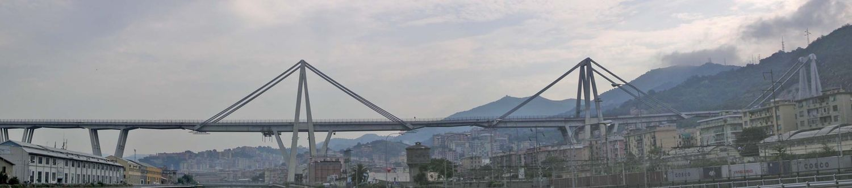 Morandi tilto vaizdas 2007 m. Foto: Wikipedia