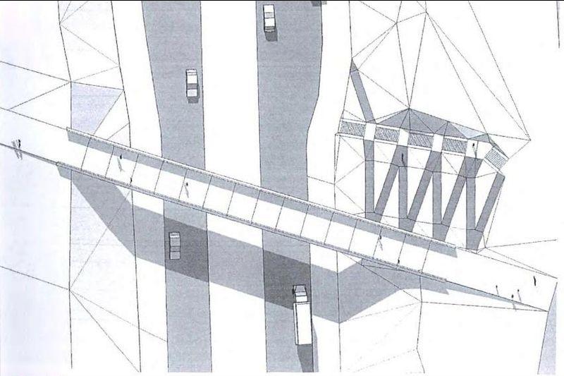 """T.Narbuto viadukas (pav.. """"Vilniaus planas"""")."""