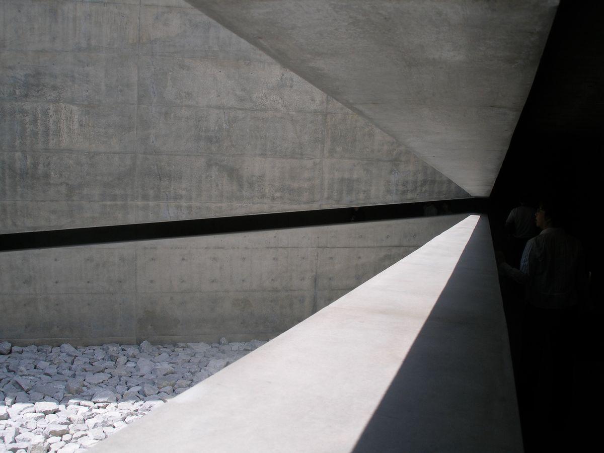 Detalė, architektas Tadao Ando, Meno centras Naoshimos saloje (Japonija). Foto: ©PILOTAS.LT